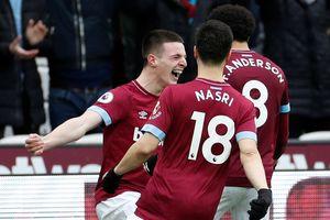 Arsenal gây thất vọng, nhận thất bại trên sân West Ham