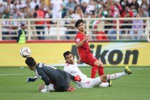 Đội tuyển Việt Nam không thể tạo nên bất ngờ trước Iran