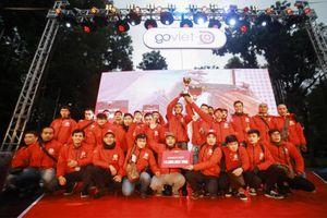 GO-VIET tổ chức 'Đại hội Chiến binh Áo đỏ' tri ân tài xế & công bố thí điểm dịch vụ GO-FOOD