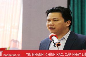 Chủ tịch UBND tỉnh: Đưa kỹ thuật hiện đại vào hoạt động chiếu sáng đô thị Hà Tĩnh