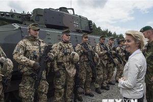 Đức thừa nhận lực lượng quân đội chung châu Âu đã hình thành