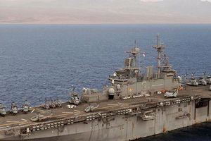 Hé lộ lý do Mỹ bất ngờ điều tàu chiến khổng lồ tới Syria