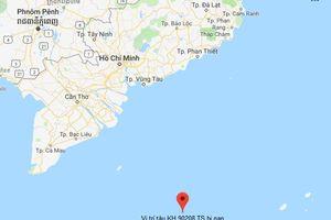 Tàu cá bị chìm gần Côn Đảo, 10 ngư dân mất tích