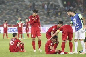Dù để thua Iran 2-0 nhưng đội tuyển Việt Nam vẫn được người dân Hàn Quốc ủng hộ nồng nhiệt
