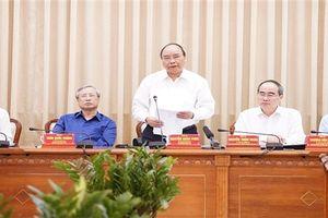 Thủ tướng: Phát triển TP. HCM để so sánh với Hong Kong, Singapore