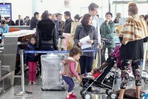 Cảng hàng không Quốc tế Nội Bài: Từ 15/1 thử nghiệm điều chỉnh luồng tuyến phục vụ hành khách