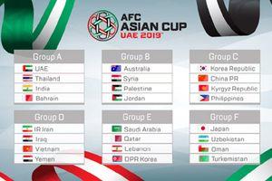 Asian 2019: Điểm danh ba cái tên góp mặt sớm vào vòng 1/8