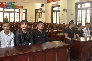 Khởi tố 9 đối tượng ở Thừa Thiên Huế dùng hung khí để hỗn chiến
