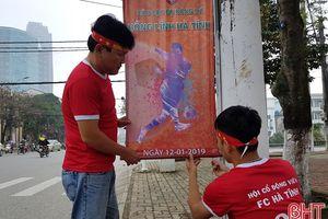 Ra mắt câu lạc bộ bóng đá Hồng Lĩnh Hà Tĩnh