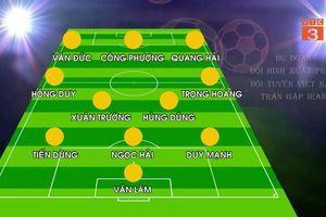 Dự đoán đội hình đấu Iran của tuyển Việt Nam