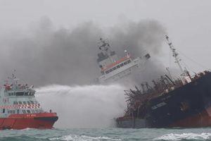 Tàu chở dầu Việt Nam nổ ngoài khơi Hồng Kông: Tìm thấy 1 nạn nhân