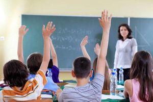 Kiểm tra vụ giáo viên thi dạy giỏi, cấm học sinh kém đến lớp
