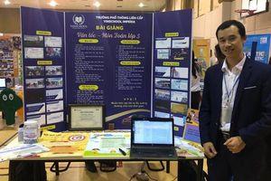 Dự án 'Vì một môi trường không khói thuốc' đoạt giải nhất Diễn đàn giáo dục sáng tạo Việt Nam