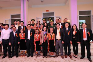 Khánh thành công trình nhà ăn kiêm hội trường tại khu nội trú Trường THCS Môn Sơn