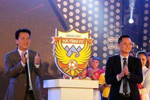 Hà Tĩnh: Ra mắt CLB bóng đá Hồng Lĩnh