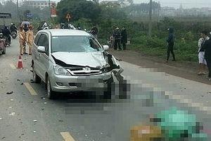 Ô tô lấn làn tông chết 2 người đi xe máy