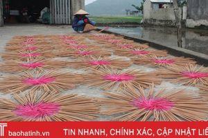 Văn hóa Việt trong nghề làm hương ở Hà Tĩnh