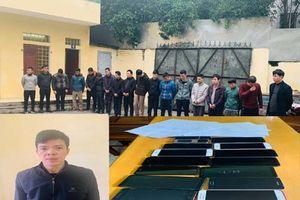 Triệt phá ổ cá độ bóng đá 300 tỷ qua mạng tại Thanh Hóa