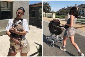 Cuộc sống sang chảnh như công chúa của con gái Kylie Jenner dù chỉ mới một tuổi
