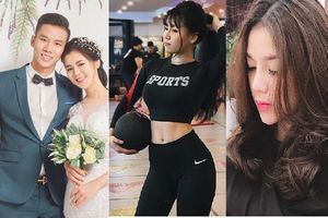 Bạn gái Lâm 'tây' và những hot girl không 'sang chảnh' của tuyển Việt Nam