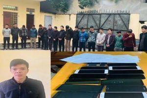 Thanh Hóa: Phá ổ nhóm cá độ bóng đá lớn, tạm giữ 12 đối tượng