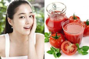 2 cách làm đẹp đơn giản bằng cà chua, sau 1 tuần da sáng mịn trắng hồng