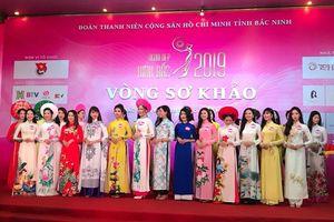 30 người đẹp vào vòng chung kết 'Người đẹp Kinh Bắc 2019'