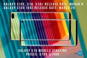 Galaxy S10 cao cấp nhất ra ngày 29/3 sẽ có giá bao nhiêu?
