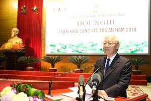 Tổng Bí thư, Chủ tịch nước chỉ đạo tại Hội nghị ngành Tòa án