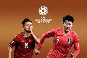 Lịch thi đấu và bảng xếp hạng Asian Cup 2019 ngày 14/1