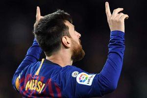 Lionel Messi xác lập kỷ lục ghi bàn tại La Liga