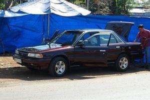 Xe ô tô của cán bộ Chi cục Kiểm lâm Bình Phước nghi bị gài mìn