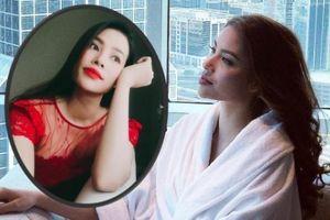 Hoa hậu Phạm Hương khoe ảnh cận mặt, dân mạng phát hiện điểm lạ