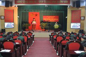 Binh chủng Pháo binh tổ chức hội nghị quân chính năm 2018