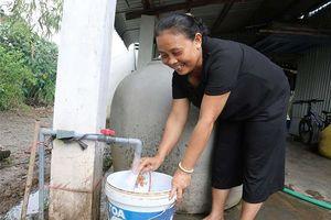 Công trình thanh niên mang nước sạch về vùng sâu Kiên Giang