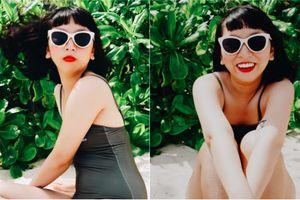 Chụp bikini 3 vòng như 1, 'thánh lầy' Trang Hý khiến CĐM cười vật vã