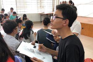 Trường ĐH Kiến trúc TP.HCM xét thí sinh có điểm năng khiếu từ 5 trở lên