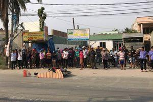 Sau tai nạn chết người, tài xế xe container rời khỏi hiện trường, bị dân truy đuổi