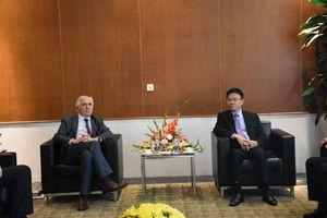 Bộ trưởng Lê Thành Long tiếp xã giao đại diện Hội đồng Công chứng tối cao Pháp