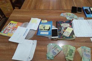 Cảnh sát triệt phá 6 tụ điểm đánh bạc dưới hình thức lô đề