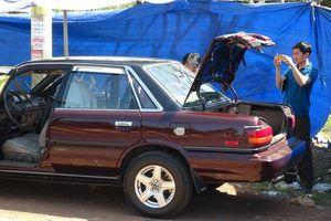 Xe ô tô của cán bộ Chi cục Kiểm lâm Bình Phước nghi bị cài mìn