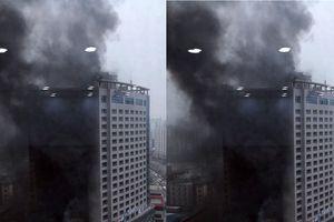 Cháy lớn tại khách sạn 21 tầng ở Hàn Quốc