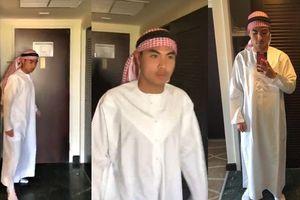 Cười bò với màn hóa thân thành 'Hoàng tử Ả-rập' của Đức Huy