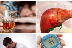'Viễn cảnh' bệnh tật khi uống rượu với cái 'bụng rỗng'