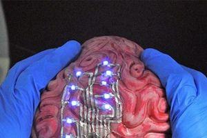 Kỳ lạ loại 'hình xăm điện tử' được dán trên bề mặt não để theo dõi sức khỏe con người