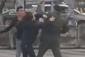 Đang giám định thương tật nhân viên an ninh Nội Bài bị hành hung