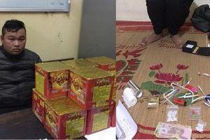 Hà Nam: Liên tiếp bắt giữ các đối tượng tàng trữ 'hàng nóng'