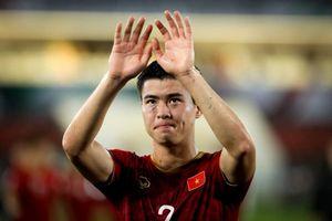 Sau tất cả, Duy Mạnh vẫn là hot boy 'rắn rỏi' của tuyển thủ Việt Nam