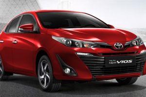 Toyota Vios là mẫu xe bán chạy nhất năm 2018