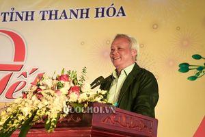 Phó Chủ tịch Quốc hội Uông Chu lưu dự chương trình ' Tết sum vầy 2019' tại Thanh Hóa